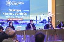 Bakan Murat Kurum açıkladı; Fikirtepe'de büyük dönüşüm başlıyor