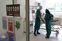 Cerrahpaşa'da ameliyathane yoğun bakıma dönüştürüldü
