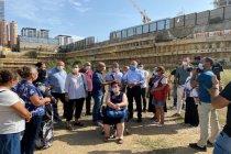 CHP'li Hamzaçebi, Fikirtepe'de kentsel dönüşüm mağdurlarıyla bir araya geldi