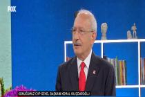 Kılıçdaroğlu: 18 yıldır devletin başındalar devletin bütün kurumlarını rant uğruna yok ettiler