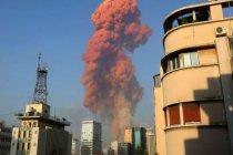 Lübnan Kızılhaçı: Beyrut'taki patlamada en az 100 kişi hayatını kaybetti