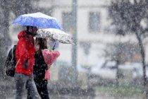 Meteoroloji'den kar ve fırtına uyarısı