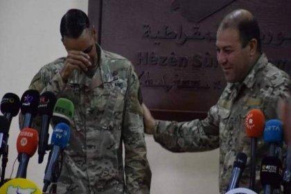 Görevi sona erdiği için ağlayan ABD'li komutan: YPG'ye artık destek veremeyeceğim için çok üzgünüm