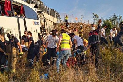 İstanbul'da feci kaza: 5 ölü, 25 yaralı