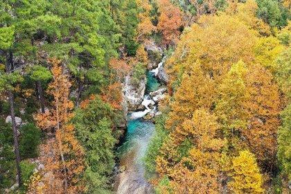 Yazılı Kanyon Tabiat Parkı her mevsim ayrı güzel