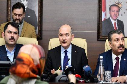 3 bakandan Elazığ depremine ilişkin açıklama