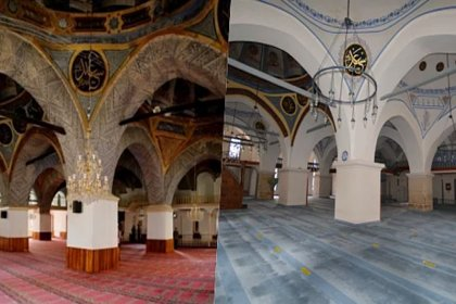 '514 yıllık camiye restorasyon yerine badana yapıldı' iddiası