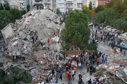 6.6 şiddetinde olan İzmir depreminden sonra  575 artçı sarsıntı yaşandı; 28 vatandaşımız hayatını kaybetti, 885 vatandaşımız yaralandı