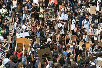 ABD'deki Floyd protestoları İngiltere'ye sıçradı