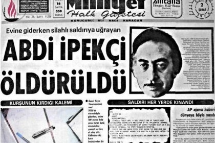 Abdi İpekçi suikastının 41. yıl dönümü