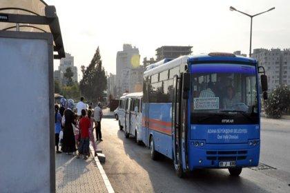 Adana Büyükşehir'den toplu taşıma esnafına yakıt desteği