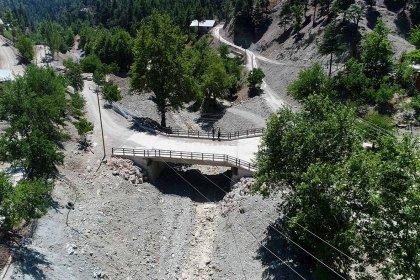 Adana'da köprü ve menfez yapımları aralıksız sürüyor