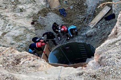 Adana'da kuyuya düşen 2 işçiden 1'i hayatını kaybetti