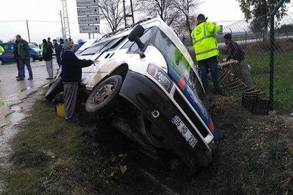 Adana'da trafik kazası: 9 yaralı