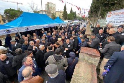 Adnan Kahveci vefatının 27. yılında mezarı başında anıldı