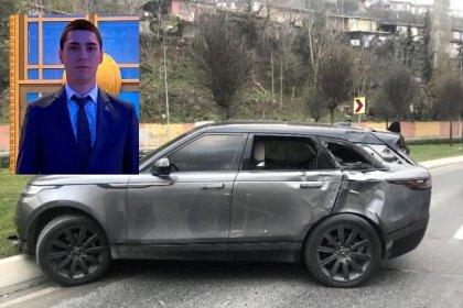 AK Partili Şener İstanbul'da lüks aracıyla kaza yaptı!