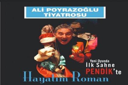 Ali Poyrazoğlu'nun 'Hayatım Roman' oyunu Bosna Sancak Derneği'nde