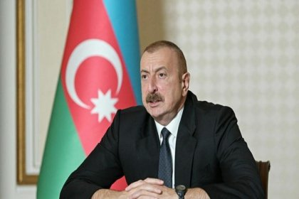 Aliyev: Ermenistan geri çekilirlerse çatışmalar durur