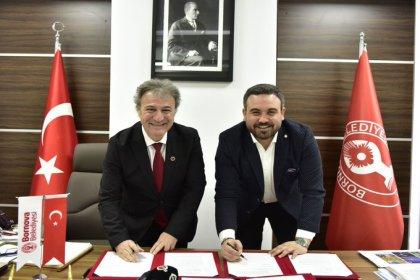 Altay ile Bornova Belediyesi arasında stat protokolü imzalandı