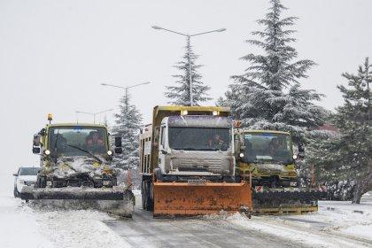 Ankara Büyükşehir Belediyesi kışa hazırlanıyor