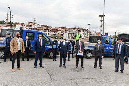 Ankara Büyükşehir Belediyesi'nden dolmuşçu esnafına gıda kolisi desteği