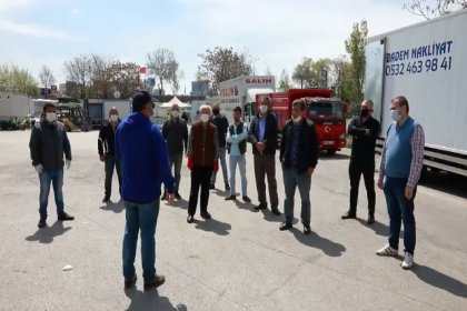 Ankara Büyükşehir Belediyesi'nden nakliyeci esnafına destek