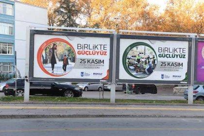 """Ankara Büyükşehir'den """"Kadına Karşı Şiddetle Mücadeleye"""" destek"""