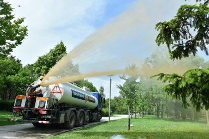 Ankara Büyükşehir'den sıvı gübre kullanımı ile 36 milyon TL'lik tasarruf sağladı