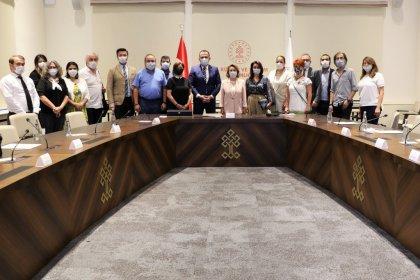 Ankara Kent Konseyi'nden Kültür ve Turizm Bakanlığı'na ziyaret