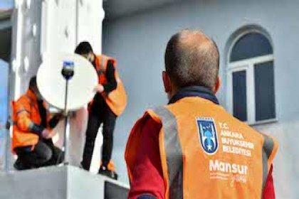 Ankara'da 914 köy ücretsiz internete kavuştu