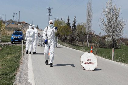 Ankara'da market işletmecisi koronavirüse yakalandı, mahalle karantinaya alındı