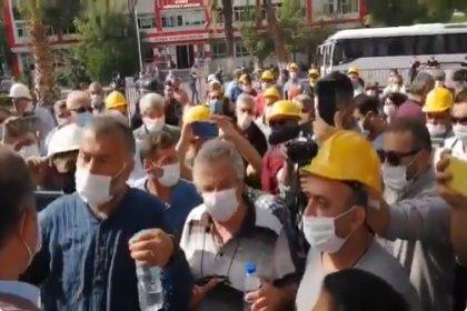 Ankara'ya yürümek isteyen maden işçilerine polis engeli