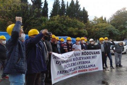 Ankara'ya yürümek isteyen maden işçileri gözaltına alındı