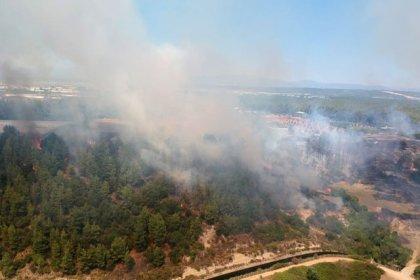 Antalya orman yangını