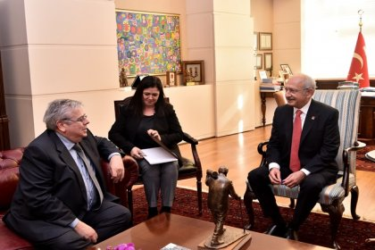 AP Türkiye Raportörü Amor'dan Kılıçdaroğlu'nda ziyaret