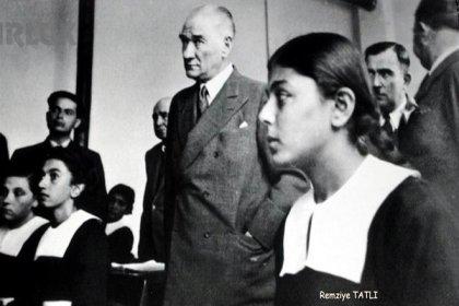 Atatürk'le çekilen fotoğrafıyla hafızalara kazınan Remziye Tatlı yaşamını yitirdi
