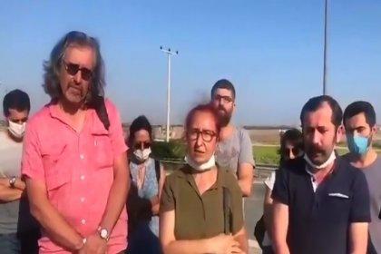 Avukat örgütlerinden ölüm orucundaki Ebru Timtik'e ziyaret