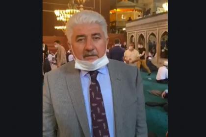 Ayasofya'nın ibadete açılışına katılan bir AKP'li vekil daha koronavirüse yakalandı