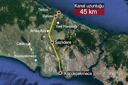 Bakanlıktan CHP'li vekilin 'Kanal İstanbul' sorusuna yanıt: Yabancılar 791 bin 370 metrekare ana taşınmaz edinmiştir