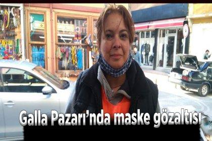 Bartın Halkevleri Başkanı Yonca Alemdar'a pazar yerinde maske gözaltısı
