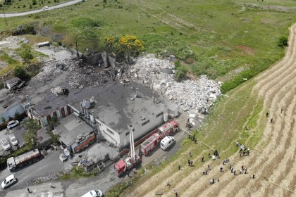Başakşehir'de fabrikada patlama: 2 işçi hayatını kaybetti