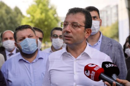 Başakşehir'deki Sular Vadisi'nde incelemelerde bulunan İmamoğlu: Kamu malına çökme gibi hususlar var, yerinde görmek istedim