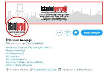 Basına bir de sosyal medya sansürleri başladı; istanbulgercegi.com'un Twitter hesabı kısıtlandı