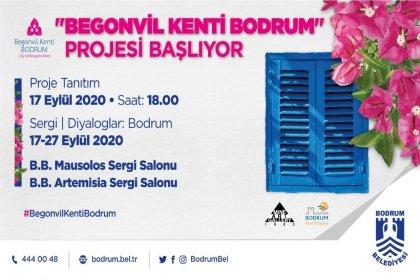"""""""Begonvil kenti Bodrum"""" projesi başlıyor"""