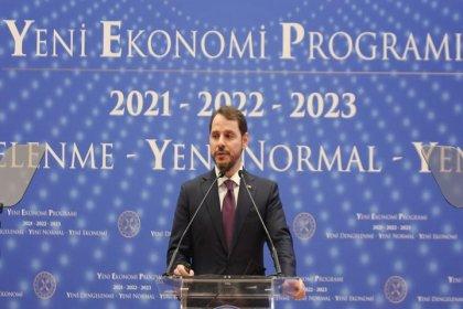 """Bakan Albayrak, YEP'i açıkladı: bu seneki Yeni Ekonomi Programı'nın ana temalarını """"Yeni Dengelenme"""", """"Yeni Normal"""" ve """"Yeni Ekonomi"""" olarak belirledik her birini ayrı bir meydan okuma olarak görüyoruz"""