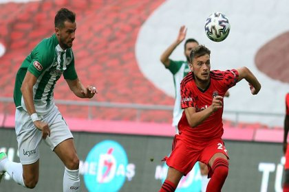 Beşiktaş, Konyaspor'a 4-1 mağlup oldu
