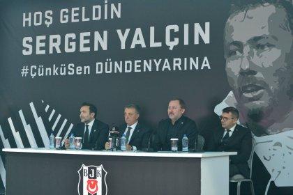 Beşiktaş'la anlaşan Sergen Yalçın imzayı attı