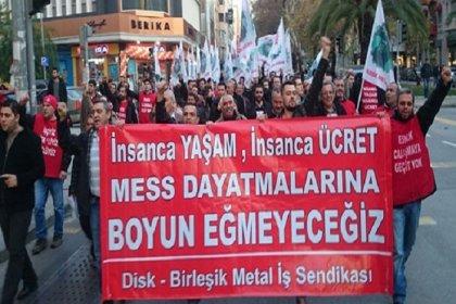 Birleşik Metal İş Sendikası'ndan 5 Şubat grevi öncesi basın açıklaması