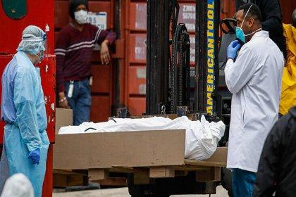 Bloomberg: Pentagon, koronavirüs nedeniyle 100 bin ceset torbası istedi