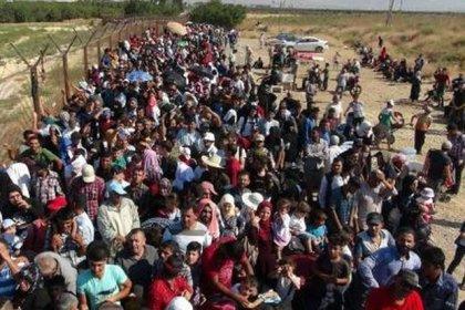 BM: Türkiye sınırına aralık ayından bu yana 350 bin Suriyeli geldi